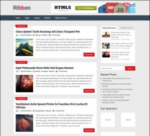 Ribbon-Business-WP-Theme